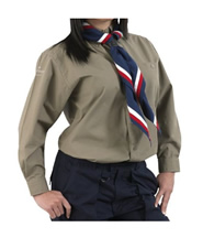 Scouts Explorer Long Sleeved Blouse - Ladies