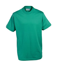 P.E. T-Shirt - Beaumont (Jade Green) - Rothley C of E Academy