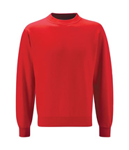 P.E. Sweatshirt - Bradgate (Red) - Rothley C of E Academy