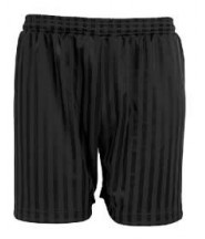 P.E. Shorts (Black) - Oxley School