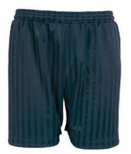 P.E. Shorts (Navy Blue) - Boothwood School