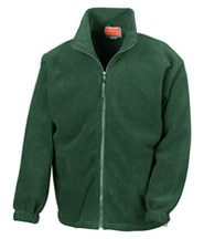 Fleece (Bottle Green) with Logo - St Botolphs Primary School