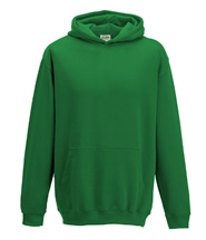 P.E. Hoodie Jumper (Green) No Logo - St Botolphs Primary School
