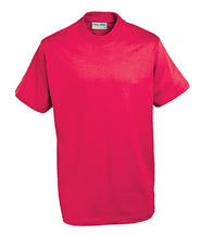 P.E. T-Shirt (Red) No Logo - St Botolphs Primary School