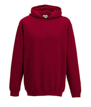 P.E. Hoodie Jumper (Red) No Logo - St Botolphs Primary School