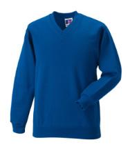 Sweatshirt (Royal Blue) with Logo - St Winefride's Catholic Voluntary Academy
