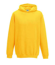 P.E. Hoodie Jumper (Yellow) No Logo - St Botolphs Primary School